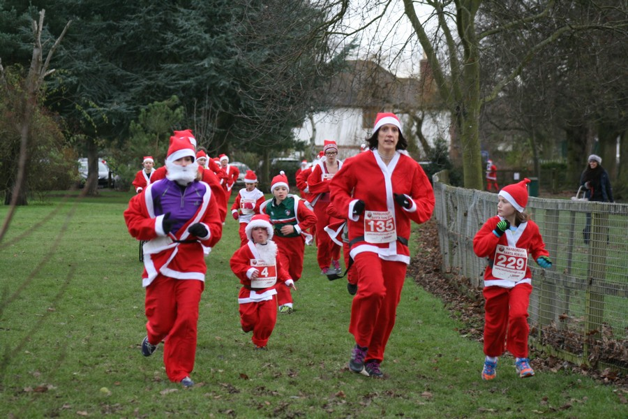 Run away success for Harborough Santa event