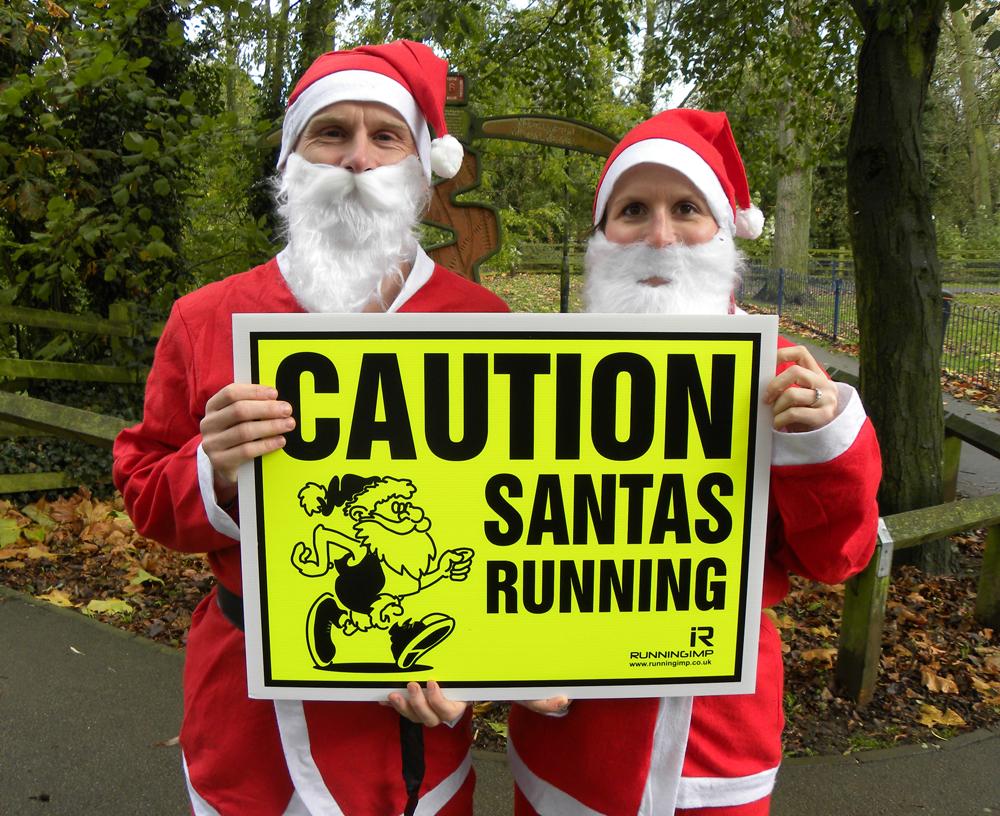 Santa Fun Run Harborough 2016